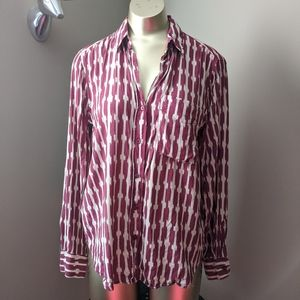 Mango Patterned Button Down